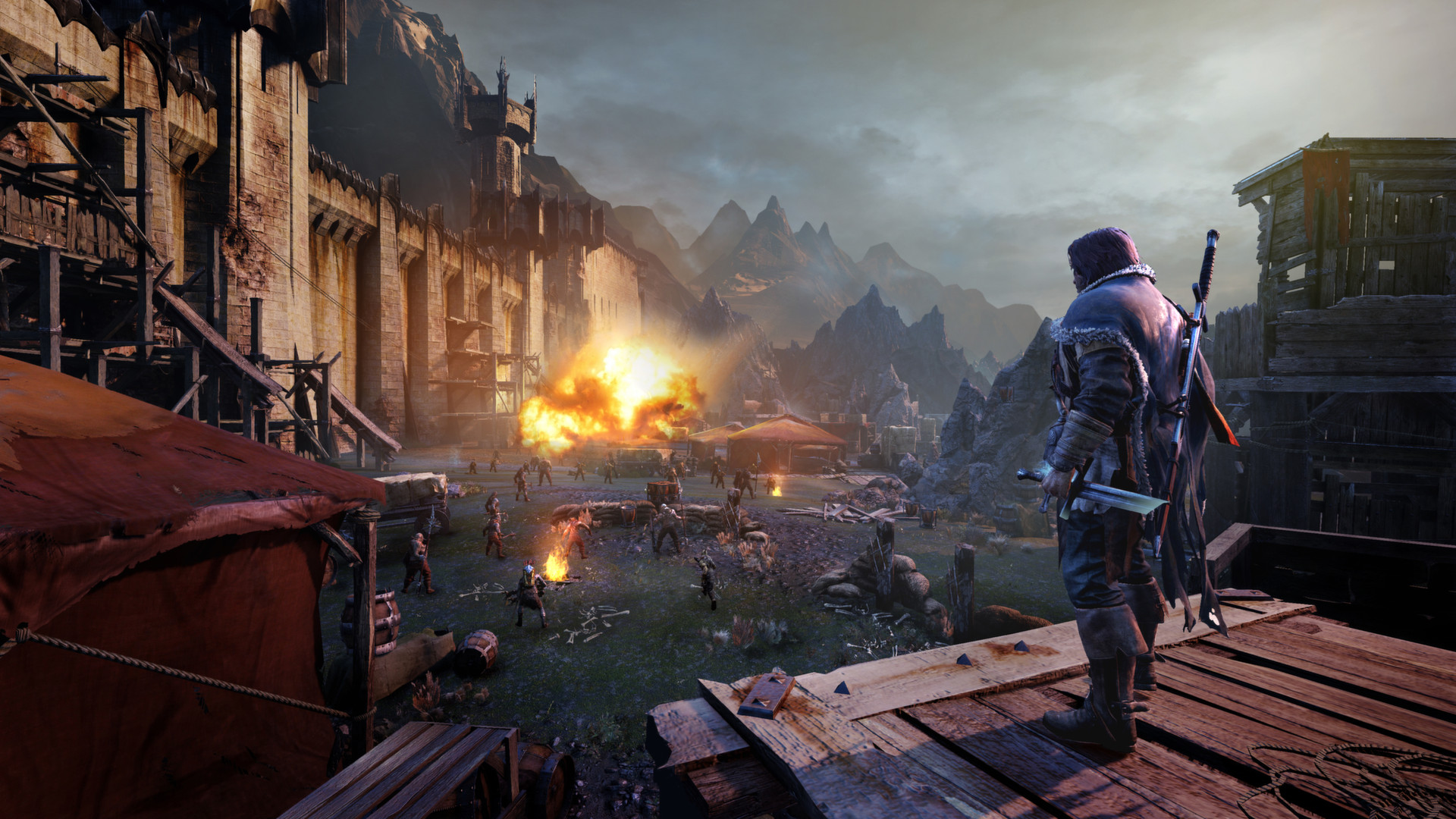 Middle-Earth: Shadow of Mordor gameplay screenshot