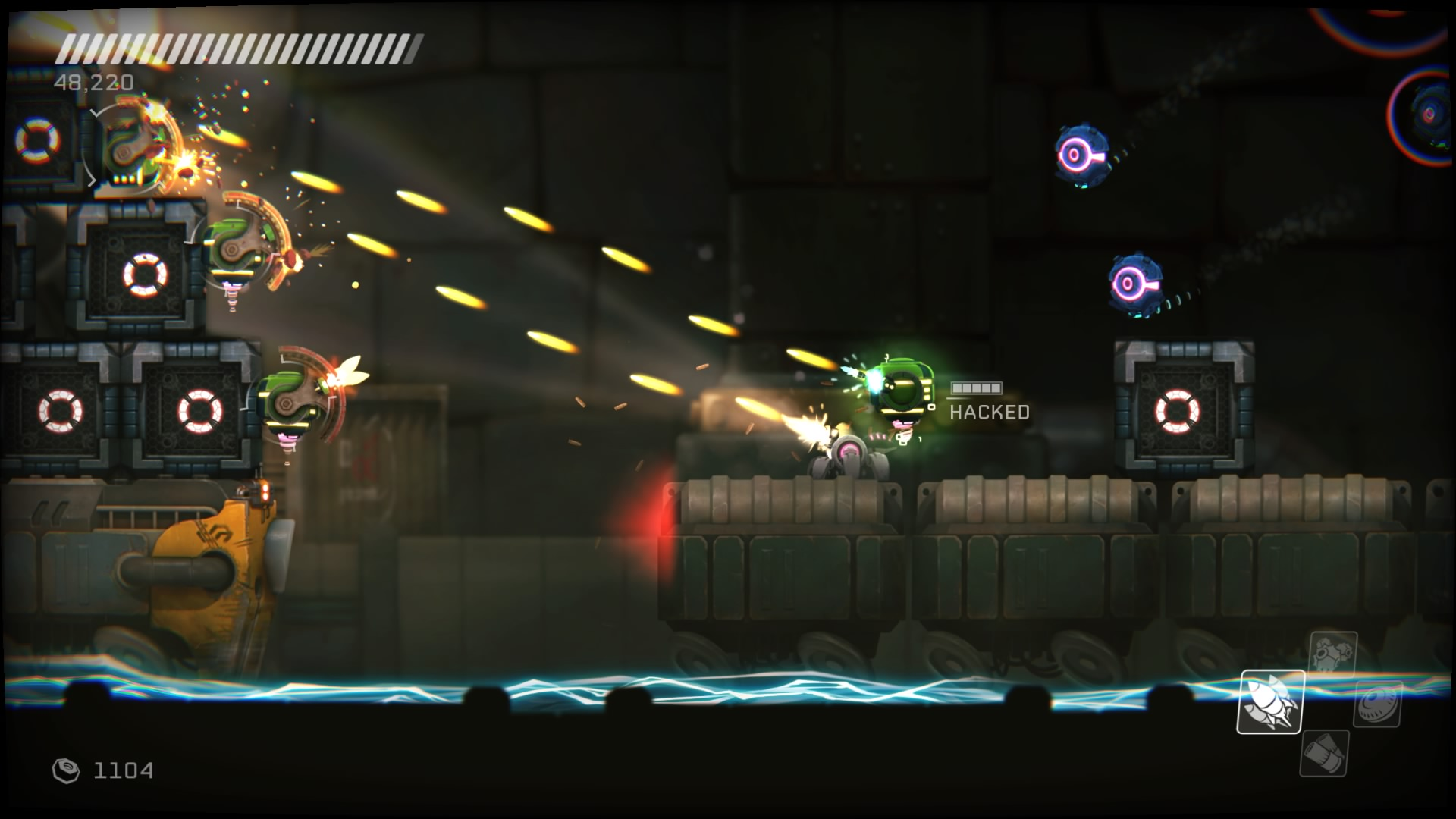 RIVE gameplay screenshot